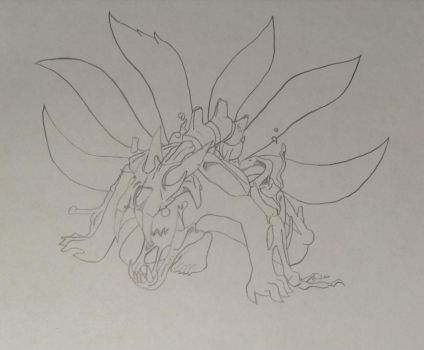 !6-Tailed by Axel-Dieing-Wolf