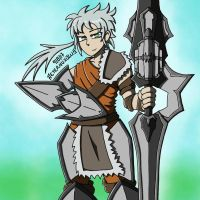 Weapon Persona - Charge Lance by Aeternuxolus