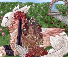 Trade- In the Rose Garden by keokotheshadowfang
