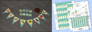 DIY Dollhouse Printable Seed Packets and Bunting by Kyle-Lefort