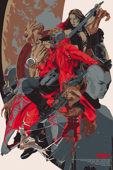 The Guardians Of The Galaxy by Aseo