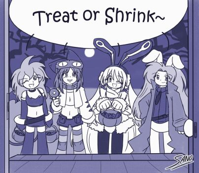 Treat or Shrink by Sanone