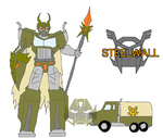 Steelwall, Leader of the Sanctobots by MRC-MRGNSTRN