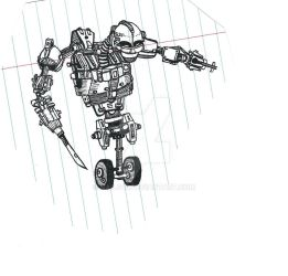 Security Killing Robot - 2008 by Nails43