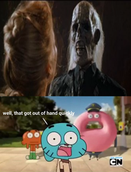 Gumball sees Donovan's death by TheCartoonWizard
