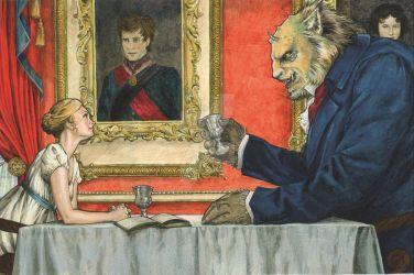Beauty and the Beast by TGB-illustrations