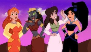 evil ladies of agrabah by devashri