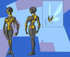 Robo Commission: The Wasp by Gryphman