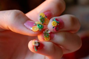 Fruity Nails by emlai2010