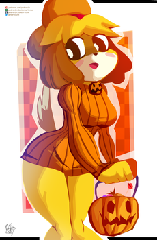 Isabelle [ Halloween ver. ] by Pedrovin