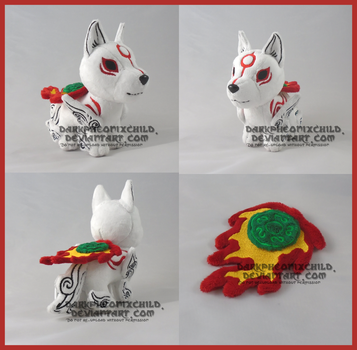 SOLD chibi Amaterasu by darkpheonixchild