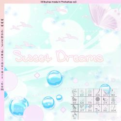 Sweet Dreams Brushes by Coby17