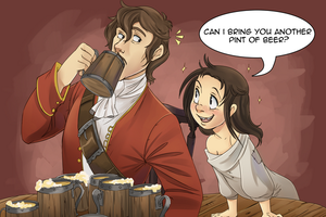 .: Another Pint? :. by PirateHearts