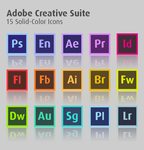 Adobe Creative Suite Vector Icons by Squeemishness
