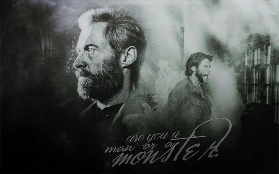man or a monster by Super-Fan-Wallpapers