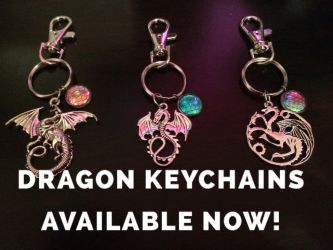 ~Dragon Keychains Available Now~ by zoruu