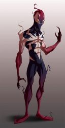 Spiderman - Ultimate Symbiote [WIP] by COLOR-REAPER