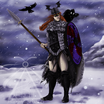Sovereign Wigfrid by drakkigirl