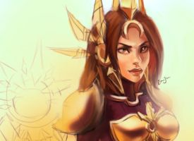 Leona League of Legends by Yourbest