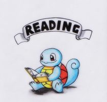 READING - Squirtle by GTS257-CT