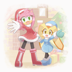 Amy and Cream by HowXu