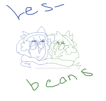 Lesbeans by wolvesofthebeyond0