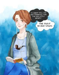 Hazel - The Fault in our Stars by kilari-chan