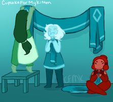 Teal Diamond's Court - Quest Four by CupcakeForMyKitten