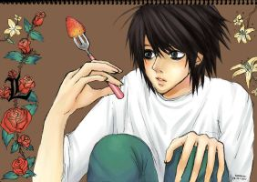 Death Note - L ver.CG by ROMEOTIC64