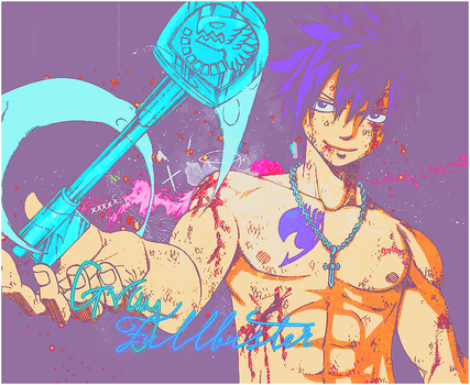 Gray Fullbuster. by xiFeelGood