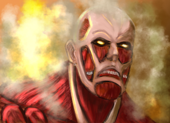 Colossal titan by Ackkerman