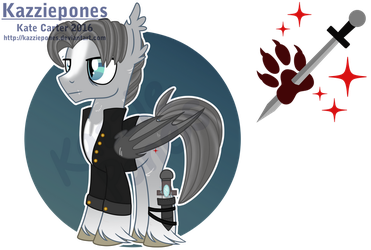 [AT] Captain Silver Duskpaw for Catnip1996 by Kazziepones