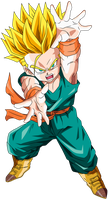 kid Trunks ssj2 by maffo1989