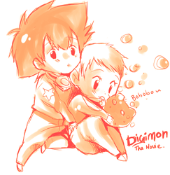 Digimon the movie by Arcanas-Romantica