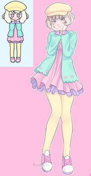 Pastel girl - Marmellata in cute clothes by MisaKarin