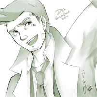 dick gumshoe by Martelca