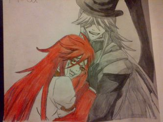 Grell x Undertaker ~ hold me by purepaw