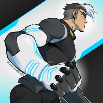 Give Shiro an Altean Arm by zillabean
