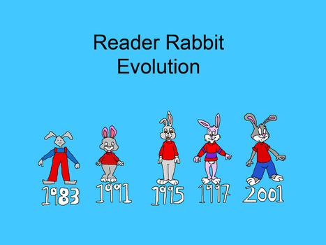 Reader Rabbit Evolution by TomArmstrong20