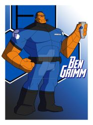 Cam's MAU Ben Grimm 4.0 by TheScarletMercenary