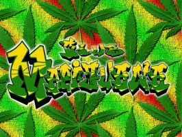 Marijuana Wallpaper by crhymez