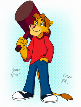 Johnny the Lion - Ducktales 2017 Style by FantasyFlixArt