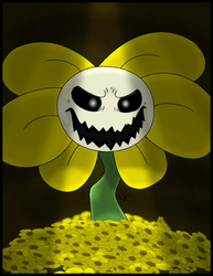 Flowey The Flower Undertale by Zykic