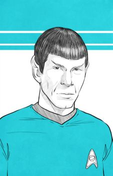 ST TOS Spock by megmcmuffins