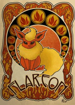 flareon by ASTROPUNCH