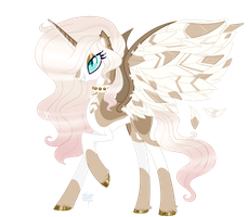 MLP Auction - Rose Gold (Closed) by ProjectBlastArt