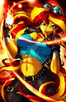 Sunset Shimmer Final Color by animeclaro