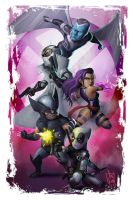 Uncanny X-Force by geeshin