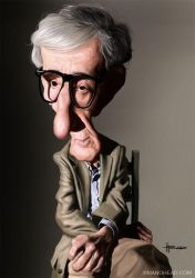 Woody Allen by manohead
