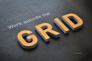 Work outside the grid. by no-preview